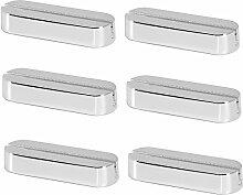 Messerbank Tischkartenhalter L 6 cm 6er Set Silber