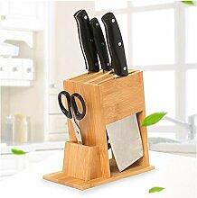 messerblock Bambus Küchenmesserblock, Küche