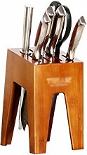 messerblock Bambus Messerblock ohne Messer,