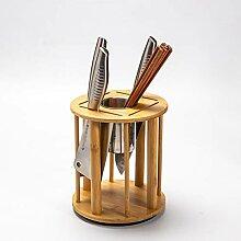 messerblock Bambus Messerblock ohne Messer