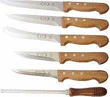 Messerset Ro-Da 6tlg. Fleischermesser