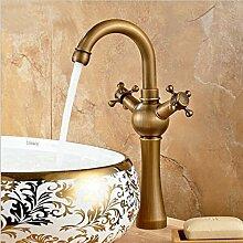 Messing antik Armaturen Badezimmer Waschbecken mit