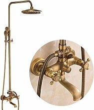Messing antik Badewanne Dusche Wasserhahn mit