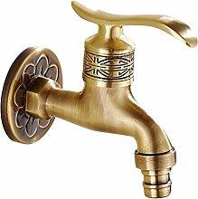 Messing Antik Wasserhahn Waschmaschine Wasserhahn