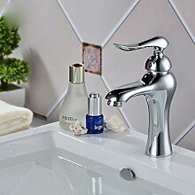 Messing Badezimmer Mischbatterie von Heiß Kalt