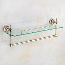 Messing Badezimmer Zubehör Set Chrom Bad Hardwares für Europäische Golden und Keramik Badezimmer Zubehör Sets, O