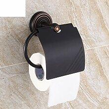 Messing Handtuchhalter/Regal von WC-Papier für Badezimmer/Europäische antike Toilettenpapier Kasten/roll Pappschachtel