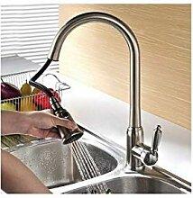 Messing Herausziehen Küchenarmatur Warmen und