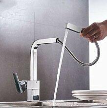 Messing Küchenarmatur Heißes und kaltes Wasser