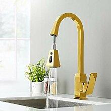 Messing Küchenspüle Wasserhahn Mixer Kalt- und