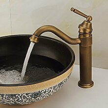 Messing Leitungswasser Tall Design Antik Bronze