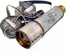 Messing Nautischen Antik Fernrohr Messing Teleskop