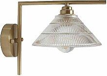Messing Wandlampe Schlafzimmer Nachttischlampe