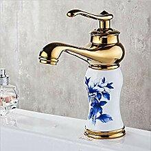 Messing Waschbecken Wasserhahn Einhand Mit