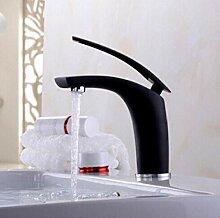 Messing Waschbecken Wasserhahn mit Farbspray