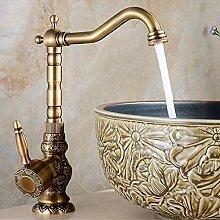 MessingWasserhahn Antik Wasserhahn Retro