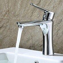 Messingbassinhahn Waschbecken Mit Warmen Und Kalten Dusche Wasserhahn Bad Hardware