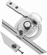 Messwerkzeug mit Lupe 360-Grad-Winkelmesser,