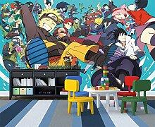 Mestgs 3D-Wandbild-Fototapete Anime Junge