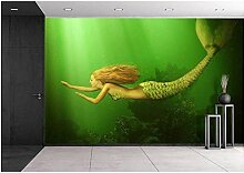 Mestgs 3D-Wandbild-Fototapete Schöne Unterwasser
