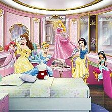 Mestgs 3D-Wandbild-Fototapete Schönes Prinzessin