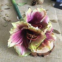 MESYR Künstliche Blume Real Touch Soft Latex