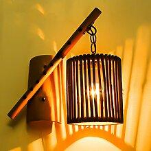 Met Love Industrielle Wandleuchte Garten Wohnzimmer Restaurant Bar Bambus Wandleuchte