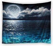 Met Love Moonlight Starry Pattern Hanging Tuch Tapisserie Sofa Handtuch Wand Hintergrund Home Decoration ( größe : 150*200cm )