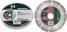 Metabo Promotion Trennscheiben 125x1,0x22,23 Inox,