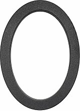 Metafranc Hausnummer 0 - Leichtmetall - schwarz -