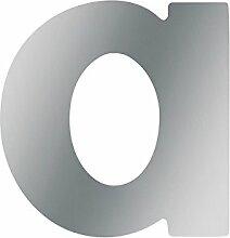 Metafranc Hausnummer a - Edelstahl - 58 mm  - 3D