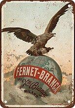 metal Signs 1892Fernet-Branca Likör Vintage