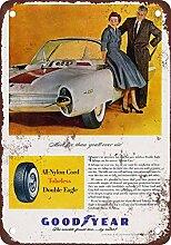 metal Signs 1955Goodyear Reifen Vintage Look