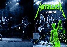 Metalica 58 Great Rock Metal-Album Cover, Musik-Band-Motiv mit Bilderrahmen, für A4