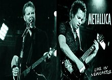 Metalica 64 Great Rock Metal-Album Cover, Musik-Band-Motiv mit Bilderrahmen, für A4