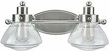 Metall-Badmöbel-Wandleuchte 17 1/2 Wide