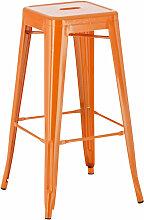 Metall Barhocker Joshua-orange
