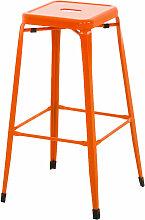 Metall Barhocker Marten-orange