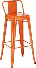 Metall Barhocker Mason-orange