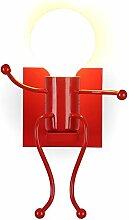 Metall E27 Wandleuchte Wandlampe Effektlampe