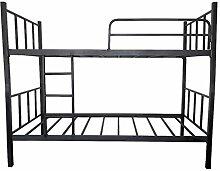 Metall Etagenbett Kinderbett Bett Hochbett Jugendbett Doppelhochbett Rahmen 200x90cm (LxB)/Höhe 158cm/Traglast pro Bett 110 kg