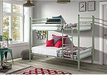 Etagenbett Aus Metall : Comfy living weiß ft und triple metall kinder etagenbett