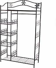 Metall-Garderobe Genf, Garderobenständer