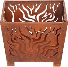Metall-Holz brennende Feuerstelle Castleton Home