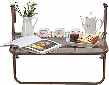 Metall-Klapp-Balkon Deck Tisch höhenverstellbar