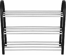 Metall Schuhe Rack stapelbar Kunststoff Aluminium