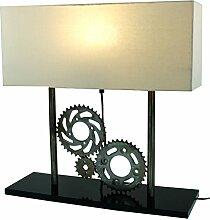 Metall -Stehlampe Zahnräder, Industrial Style, /