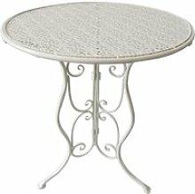 2972 Beistelltisch Metalltisch Pflanzentisch Couchtisch Tisch Nachttisch Konsole