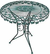 Metall Tisch Schmetterling Gartentisch