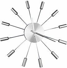 Metall Uhr/Radiale Wohnzimmer Ideen Sehen/Minimalistische Moderne Wanduhr-A 14Zoll